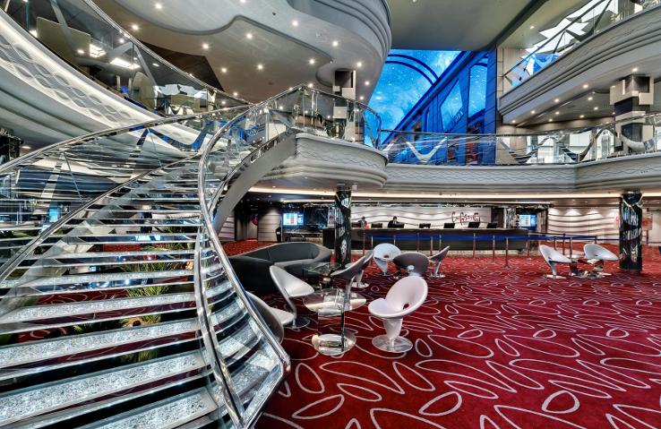 MSC Meraviglia Atrium