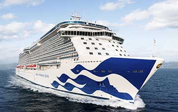 Fourth Royal Class Cruise Ship for Princess Cruises