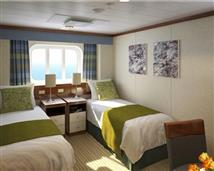 Outside Stateroom (Part Obstructed View)