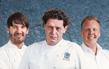 Meet your favourite P&O Cruises Celebrity Food Heroes