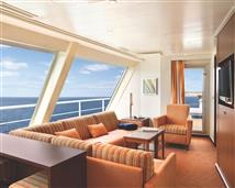 The Captain's Suite onboard Carnival Splendor