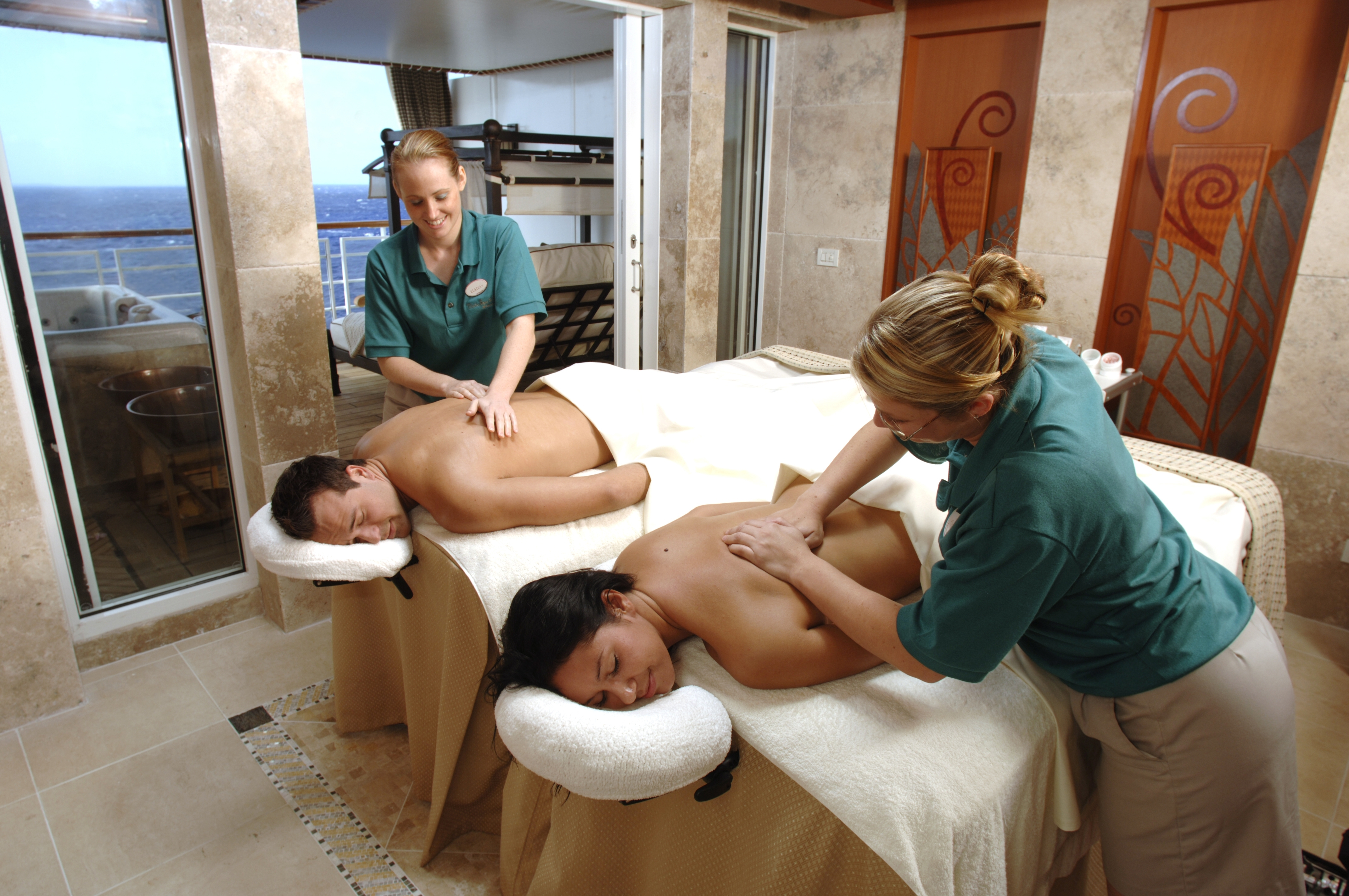 The Vista Spa onboard Disney Wonder