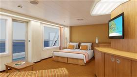 A Scenic Ocean View on Carnival Radiance