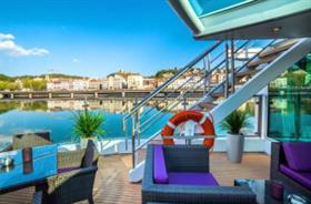 The River Terrace - Amadeus Provence by Great Rail Journeys