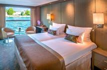 A1 cabin on-board the Amadeus Provence by the Great Rail Journeys