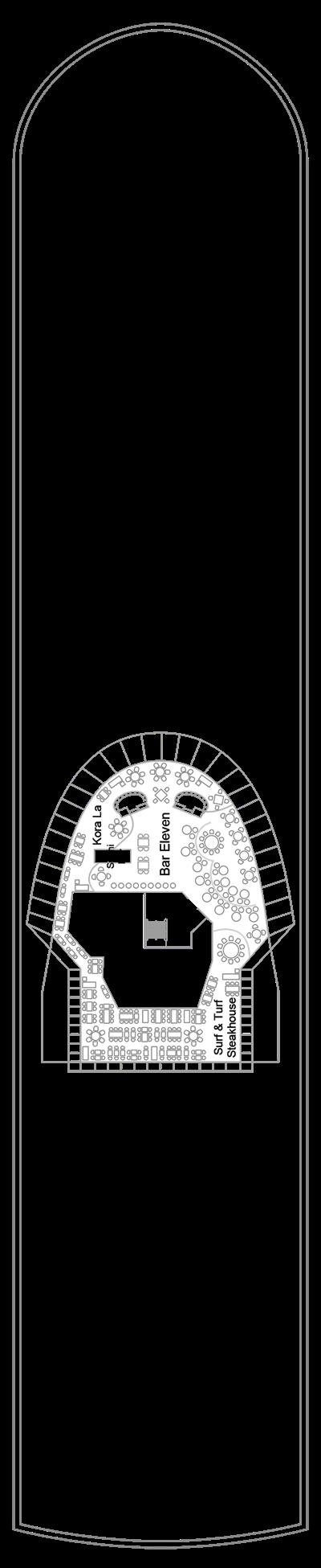 Deck 11-Marella Discovery