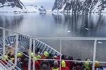 Dekk  Lemaire channel, Antactica - Hurtigruten's Destinations