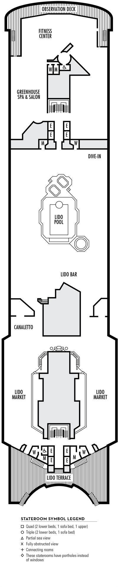 Deck 11 - HAL's Maasdam
