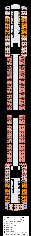 Deck 5 - HAL's Oosterdam