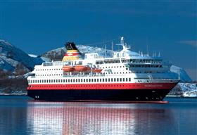 MS Nordlys by Hurtigruten, exterior
