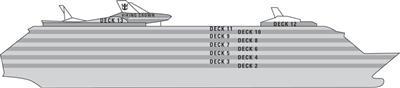Adventure of the Seas Deck Plans.