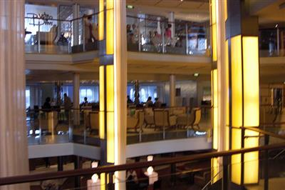 A view of Celebrity Eclipse's gallery.