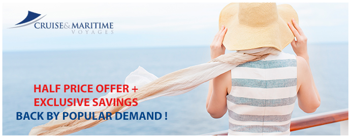 cruise and maritime half price