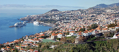 Cruises from Funchal, Madiera