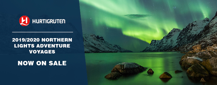 Hurtigruten New Northern Lights 2019 2020 Voyages Now On Sale Iglucruise