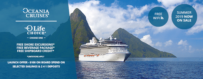 Oceania Cruises - Summer 2020 NOW on Sale | IgluCruise