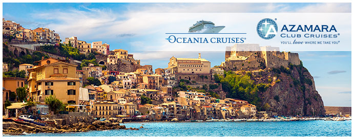 azamara and oceania cruises
