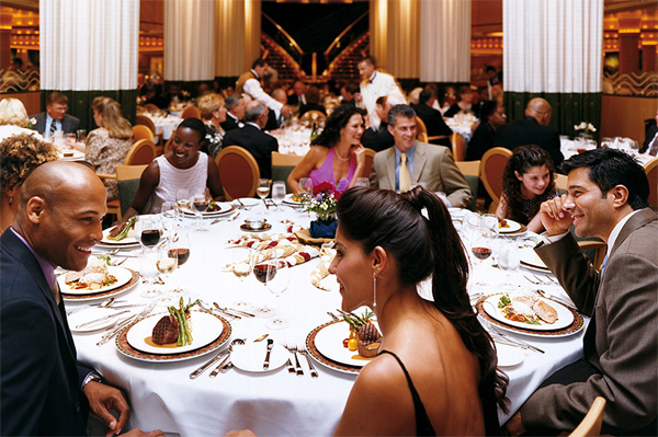 royal caribbean dining