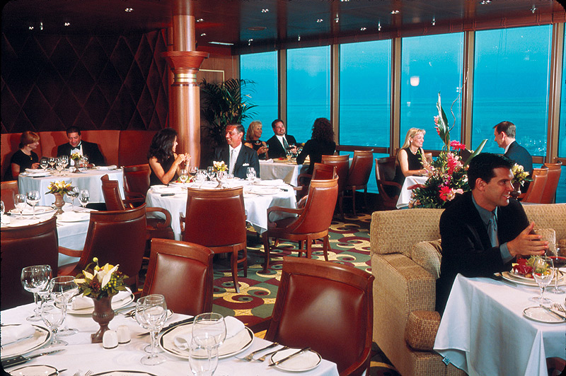 royal caribbean casual dining
